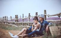 春季花海黄金档期婚纱摄影限量预定
