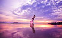 苏梵私人定制婚纱摄影—那片海