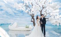 洛克摄影百分百纯客片展示%小清新婚纱客片欣赏