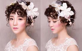 全日跟妆 鲜花造型大牌妆品 首席化妆师跟妆套餐
