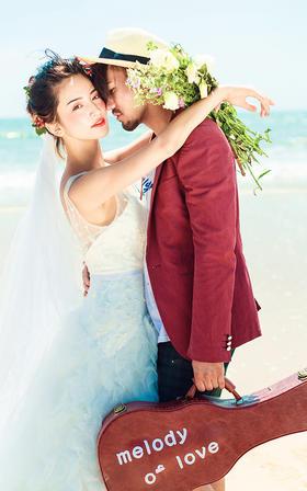 海滩婚纱照——西海岸基地作品欣赏