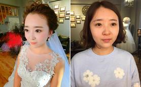 资深档唯美新娘妆 简约减龄妆容全日跟妆送亲友妆