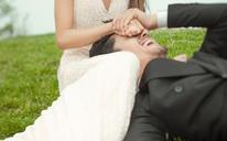 时尚婚纱摄影——笑容