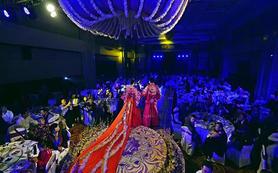 中式婚礼仪式秀和拖尾   中式嫁衣