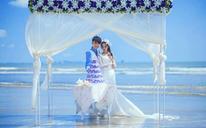 济南艾莉尚唯美海景婚纱照