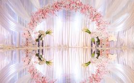 【安琪儿】香槟色婚礼布置简约不失贵族气质