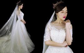 总监小洁老师跟妆+出门纱+主婚纱+礼服租赁套餐