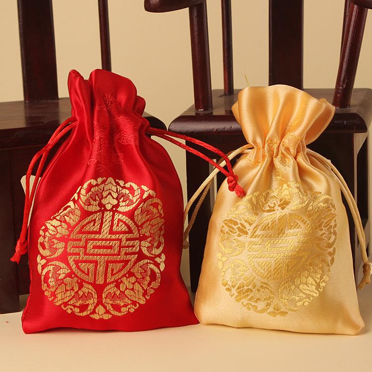 【全店满59元包邮】中式创意喜糖盒子婚礼手提袋子个性喜糖袋