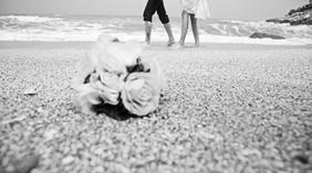ONETIME旅拍婚纱摄影唯美黑白婚纱照