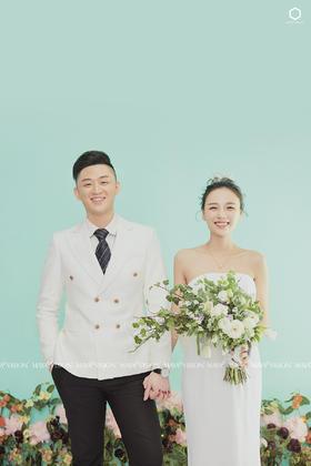 浪漫韩式小清新主题婚纱照《简爱》