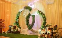 [一点婚礼]香槟金与小清新的婚礼结合