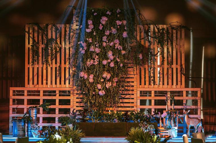 森林的呼吸主题婚礼——纯净的感受爱