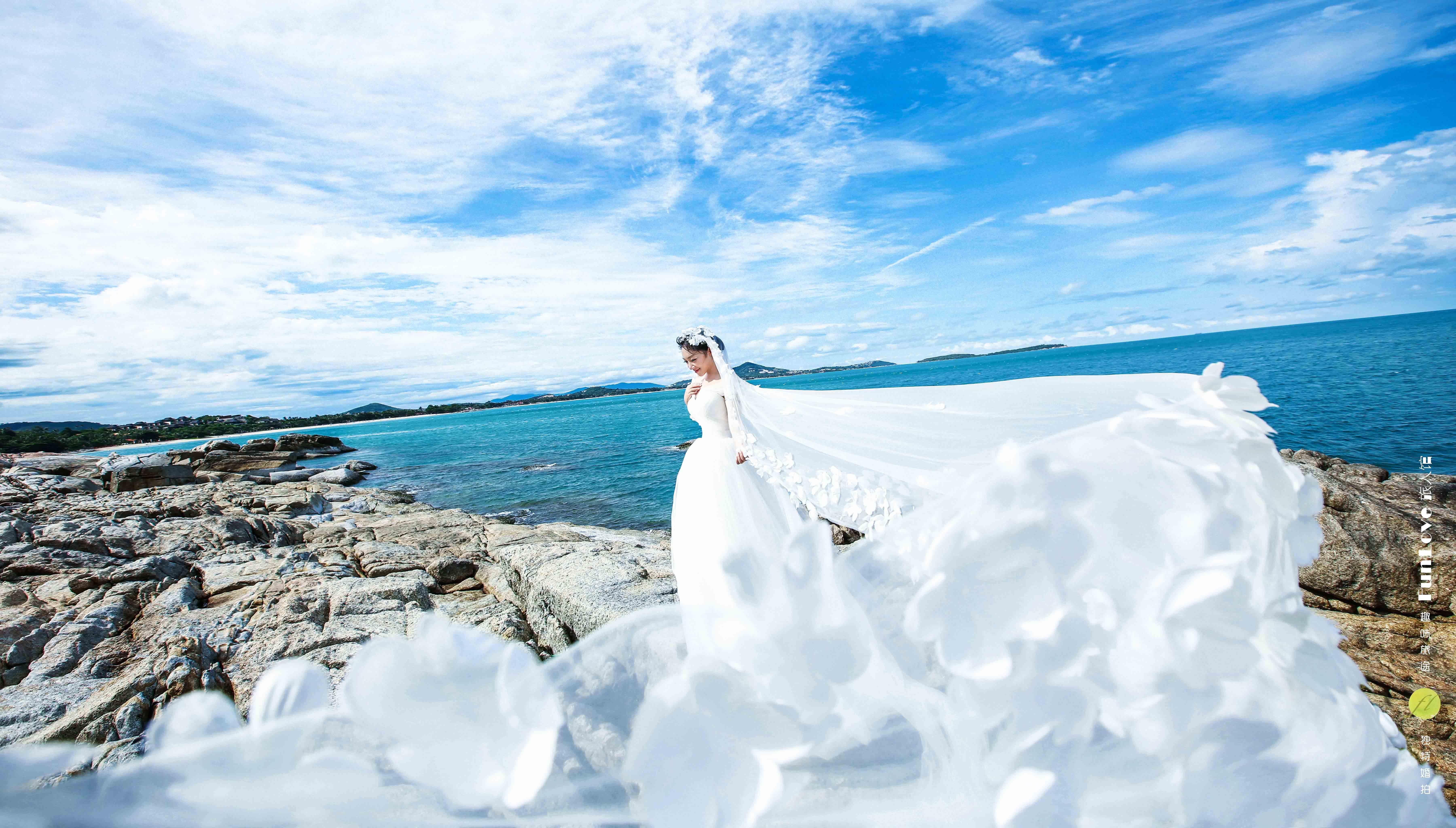 前卫海景婚纱照