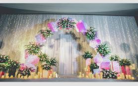 【粉色婚礼】糖果色系简约风格打造森林意境个性婚礼