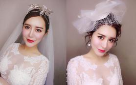 【曼妮美妆A档】总监档跟妆+免租婚纱7件+妈妈妆