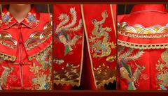 用一款红色敬酒服,做万众瞩目的美新娘!
