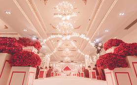 【经典红色系】夏日里的浪漫婚礼