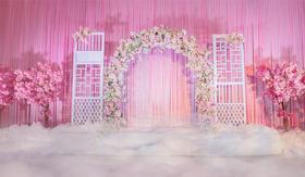 罗曼薇汀婚礼  粉色系婚礼