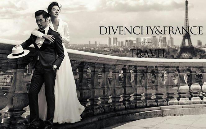 巴黎世家婚纱摄影唯美韩式