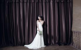 【La Reine婚纱礼服】精美鱼尾主纱