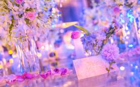 【闺蜜婚礼】--甜美粉紫色系婚礼--
