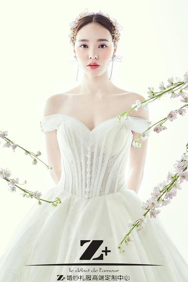 【Z+婚纱礼服】唯美时尚婚纱