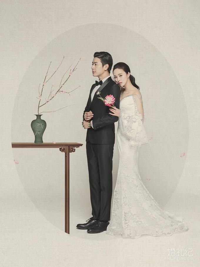 【cd视觉】 复古风-工笔画-婚纱照