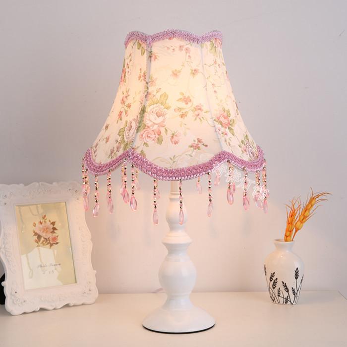 拍下减10元)温馨浪漫创意结婚礼物台灯欧式卧室床头柜