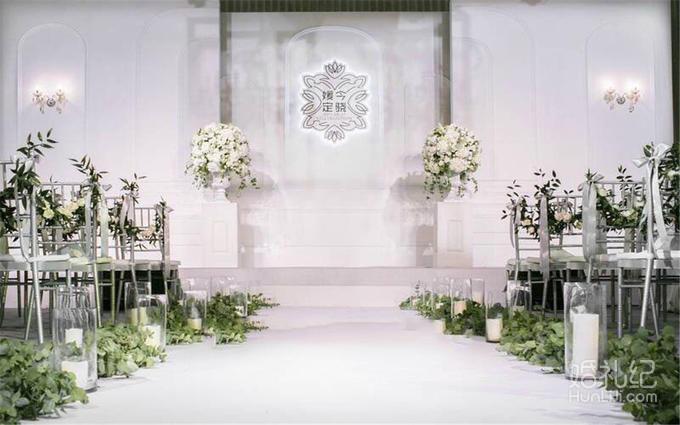 仪式亭布置 欧式浪漫仪式亭(圆亭或方亭)   灯光舞美 婚礼灯光 地牌灯