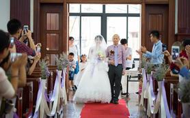 户外婚礼仪式+晚宴==双机位总监级摄影跟拍