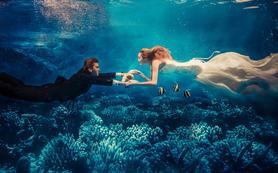 水下、海景、游艇、实景 包邮包住,预定送婚纱