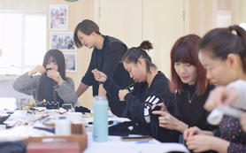 【徐燕美妆学院】手工饰品课