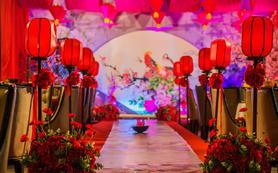 长安城内 唐式婚礼 吟牡丹 时光印迹