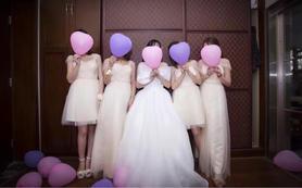【安娜公主】专业档化妆师跟妆服务+婚纱+伴娘服