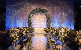 一场清新温暖的白绿系婚礼