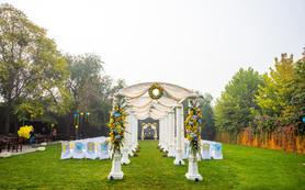 【柏谷婚礼】----室外草坪婚礼