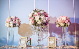【闺蜜婚礼】--高级灰蓝婚礼-香格里拉大酒店