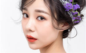 AM婚纱造型画馆新娘造型   造型总监魏萌老师