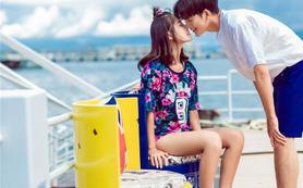 洲际酒店帆船港取景拍摄+赠送全新婚纱照+海景酒店