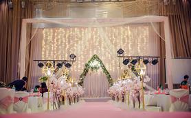【金公主婚礼馆】小厅粉色套餐
