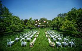 【明天婚礼】夏季热销 户外草坪婚礼童趣十足