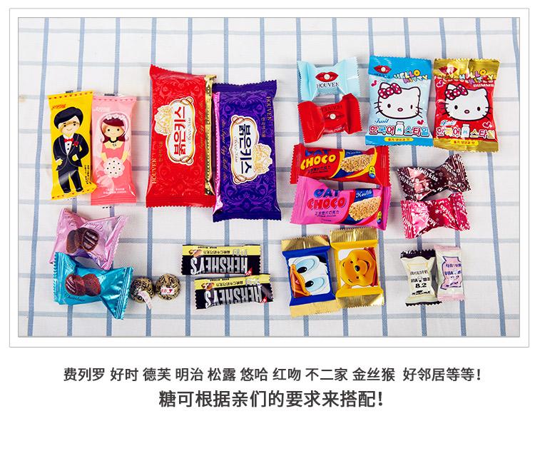 新款个性创意陶瓷招财猫喜糖盒成品含糖礼品回礼伴手礼