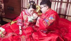 怀孕新娘の完美婚礼 三套造型美翻了