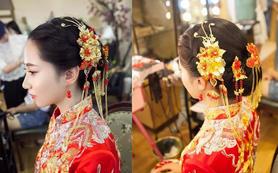 总监档早妆+晚宴妆晚宴补妆 两个造型 送专属头饰