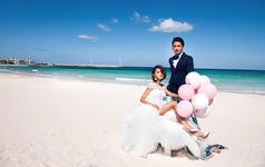 零下八度 青岛旅拍 浪漫海景 梦幻水下 包住包邮