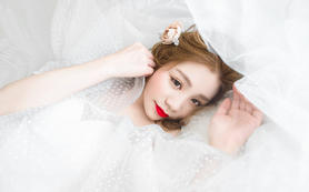 【给你的白】私人定制套餐 婚纱+跟妆