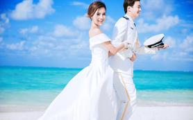 三亚浪漫蜜月游船出海定制婚纱照 送3天2晚海景房