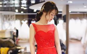 【MT名堂高级婚纱礼服】纯美敬酒服+伴娘服两件