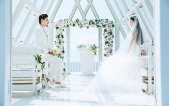 三亚旅行婚礼+婚纱照特惠套餐惊喜价