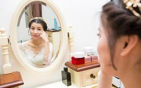 全天首席档新娘跟妆880元+免费提供秀禾+亲友妆